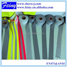 Feiny EN ISO 20471 hi vis 3m safety reflective tape nature-tc 65/35 passes 25 washes test