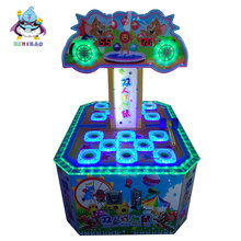 2018 China Hot Sale 2 Person Playing Games Electronic Amusement Hit Mouse Arcade Game Machine