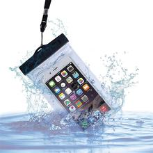 outdoors waterproof bag for smart phone, bag cover case for swimming