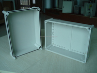 IP66 PC/ABS waterproof plastic enclosures for electronics from TIBOX, with UL certificate