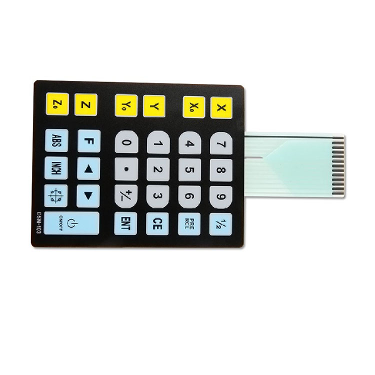 Customize High quality safe waterproof membrane keypad