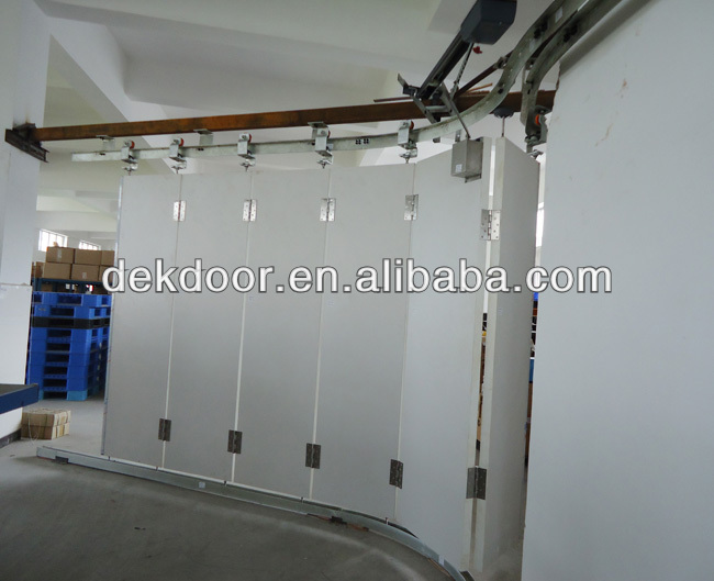 Dek custom round the corner garage door for villa buy custom round the corner garage door - Custom size garage doors ...