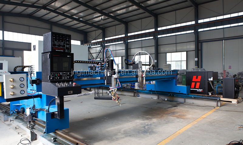 CNC Double-side Servo Drive Gantry Type Cnc Plasma Cutting Machine