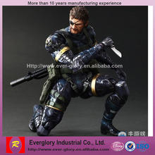 OEM soldier toy,cartoon plastic action figure, custom model action figure