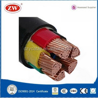 600/1000V 4 Core Copper Conductor XLPE Cable