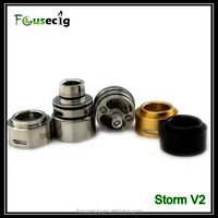2014 In stock wholesale electronic cigarette rebuildable atomizer Storm V2 excel electronic cigarette