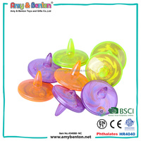 New Funny Promotional wholesale party supplies toys kids spin tops