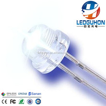 China supplier offer 5mm straw hat white led