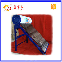Solar thermal collectors adjustable frame solar water heater with vacuum glass tubes