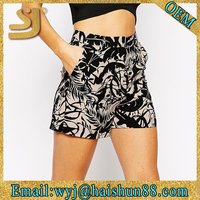 All-over printing wholesale athletic wear custom jogger shorts