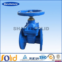 Prices ductile iron/cast iron metal seated gate valve