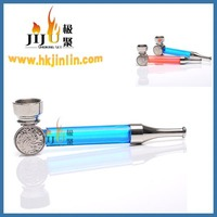 JL-296 Yiwu Jiju China Wholesale Metal Smoking Pipes,Smoking Pipes Vapor,Pyrex Smoking Pipes