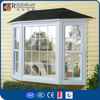 ROGENILAN factory customized aluminum lowes bay window