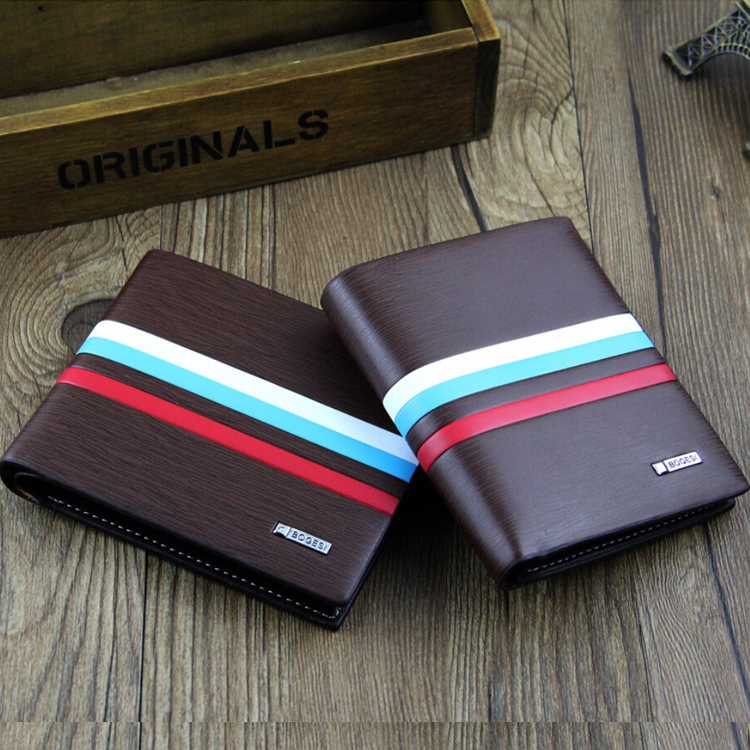 Top sale Quality Leather Wallet Fashion Short Wallet For Men