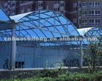 Polycarbonate translucent roofing sheet