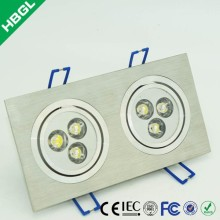GLC-TH 1w 3w 5w 7w 9w 12w 15w 20w intelligent ceiling led lights 15w adjustable led ceiling light