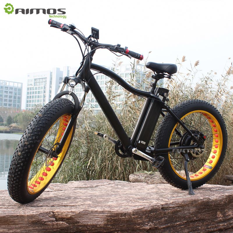 "AIMOS Tornado,Chinese NO.1 mountain 1000w electric dirt bike 26"" with mag wheels"
