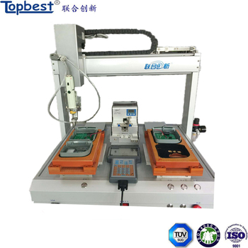 Automatic Dual-Table Robotic Screwdriver Machine for Assembly Products Use with High Efficiency