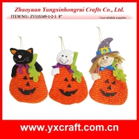 halloween decoration (ZY11S349-1-2-3 8'' ) pumpkin treat bag