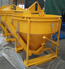 Wholesale of concrete kibble bucket 1CBM capacity