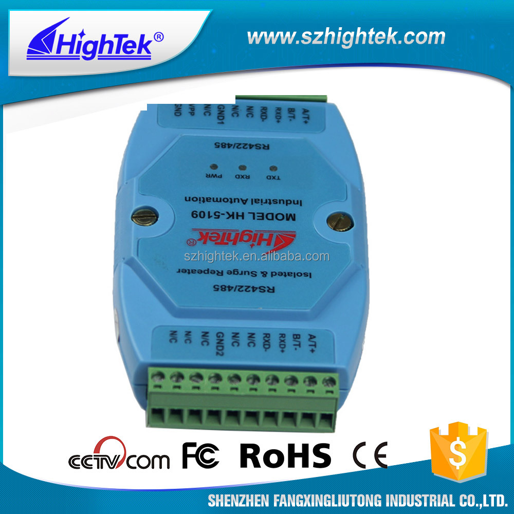 Blue RS422/485 Photoelectric Isolated Data Repeater