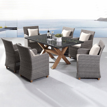 Wholesale Cheap Outdoor Used Restaurant Synthetic Poly Rattan Furniture