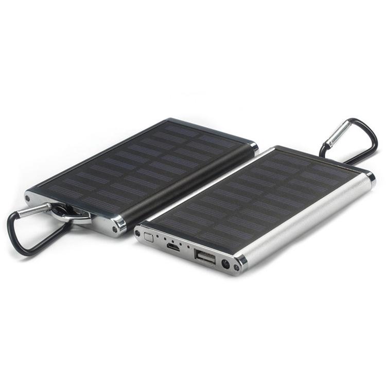 4000mah portable solar power bank