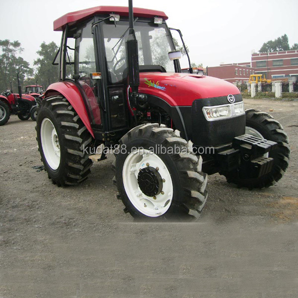 50hp 4WD china cheap tractor with front end loader and backhoe