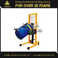 Manual Hydraulic Drum Lifter, 450kg.capacity