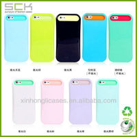 Fluorescent back cover case for samsung galaxy note 2