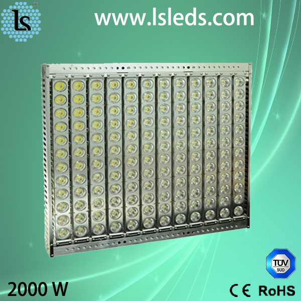 auto lighting system stadium project light smart 2000w led flood light
