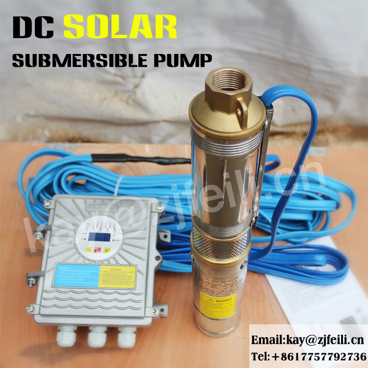 solar battery powered irrigation water pumps for agriculture intelligent deep well pump