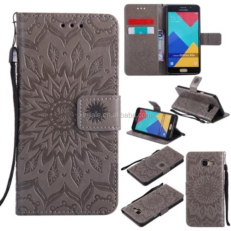 New Arrival Flower Butterfly Embossed Leather flip wallet card slot phone Case for iPhoneX