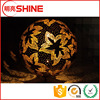 metal large sphere for decorative sculpture steel hollow ball chrome ball&outdoor metal sculpture