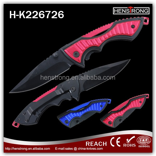 Factory stock safe utility aluminum handle browning folding knives