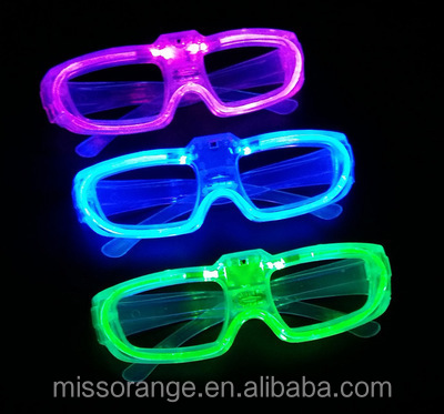 fancy party glasses toy sunglass led firework lights eyewear fancy glasses frame