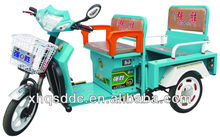 tricycle with cart with three doors opened