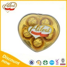 5PC heart shape Ailesi choco chocolate company names/best dark chocolate brands/imported chocolate suppliers