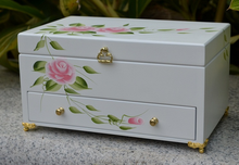 High Quality Rectangular Fashion Design Jewelry Packing Tin Box