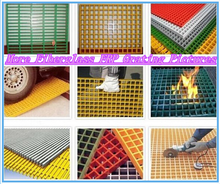 40mm*40mm fiberglass solid grille/water resistance steel grating/tree protection frp grating
