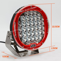 high power 96 watt 185 watt 225 watt led auto light led lights 185 watt led driving light
