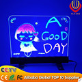 alibaba express new led item wholesale lower price desktop led writing board with CE&ROHs