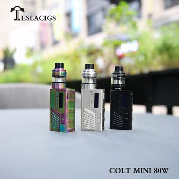Creative Tesla colt mini 80w vapor starter kit box mod from Tesla manufacture colt mini 80w