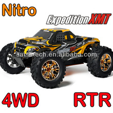 nitro truck full time 4wd off road nitro rc truck 4x4 gas powered rc cars SST1988 with 20cxp engine 2.4G transmitter