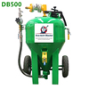 DB500 Portable sandblaster /dustless blasting machine/water sand blaster