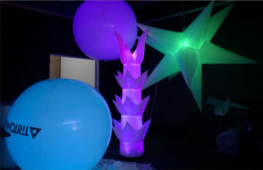 Hot Selling Different Inflatable LED Lighting Balloons for Decoration or Party or Concert