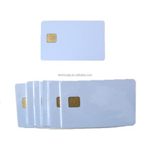 credit card size blank printable plastic pvc contact ic card