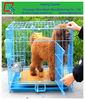 Dog Crate Kennel - Pet Playpen Cage with Plastic Tray Pan