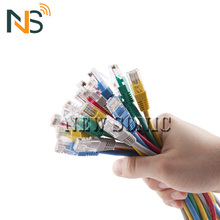 10 25 50 100 Pairs Telephone Cable Cat3 Cat 6 UTP Cable Specification 1m 2m 5m AMP Cat6 Promotion