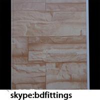 decorative stone wall panels pvc stone wall panel
